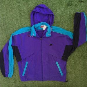 Rare Vintage 90s Nike windbreaker jacket